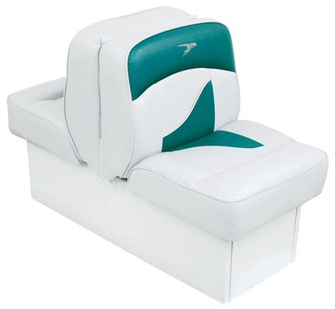 Boat Seats Teal by Back To Back Lounge Seat Contemporary Series White Teal