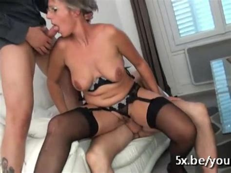 French Mature Sophie Asks For A Second Gangbang Video