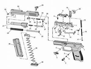 Sig Sauer P250 Parts Diagram