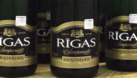 Rīgas šampanietis'' jau deviņus gadus ir populārākais ...