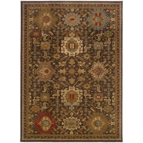 home decorators collection rugs home decorators collection salerno coffee 5 ft x 8 ft 42136