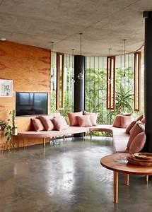 Tendance Rideaux Salon : peinture pour salon moderne 2 la couleur saumon les ~ Premium-room.com Idées de Décoration