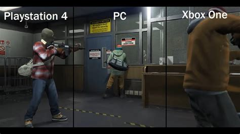 Kaos One Graphic 5 gta 5 graphics gameplay comparison pc playstation 4