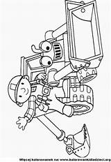 Bob Koparka Budowniczy Bajek Postacie Baumeister Pojazdy Bouwer Kolorowanka Kolorowanki Bulldozer Scoop Fun Kolorowankidladzieci sketch template