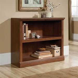 Contemporary, Adjustable, Shelf, Open, Bookcase, In, Oiled, Oak