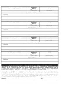 Employment Application Form PDF