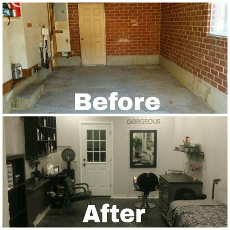 garage   salon conversion    basement