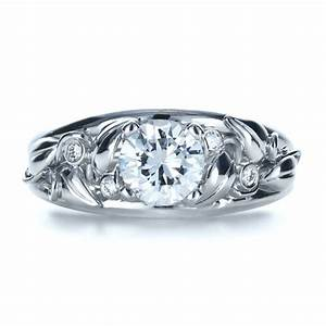 custom jewelry engagement rings bellevue seattle joseph With organic wedding rings