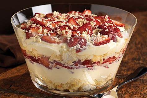 twisted strawberry shortcake   lot   trifle