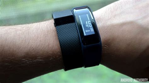 fitbit charge hr vs garmin v 237 vosmart hr android authority