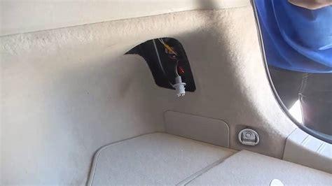 2004 toyota prius brake light bulb 2007 prius tail light bulb replacement youtube