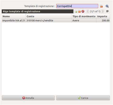 Contabilità Sezionale by Openerp Registrare I Corrispettivi Agilebg Planet