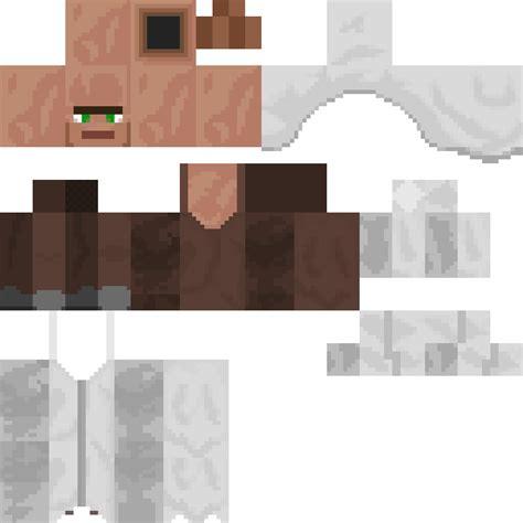 Minecraft Skin Template Minecraft Villager Skin Template Www Pixshark