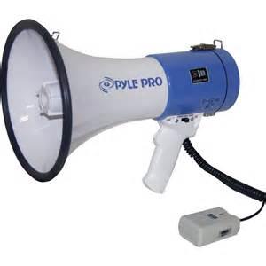Pyle PMP50 Professional Piezo Dynamic Megaphone, Multicolor