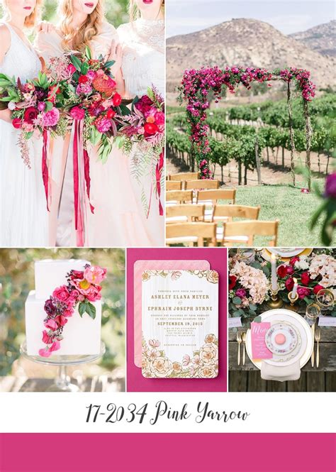 Top 10 Spring Wedding Colours for 2017 from Pantone Part