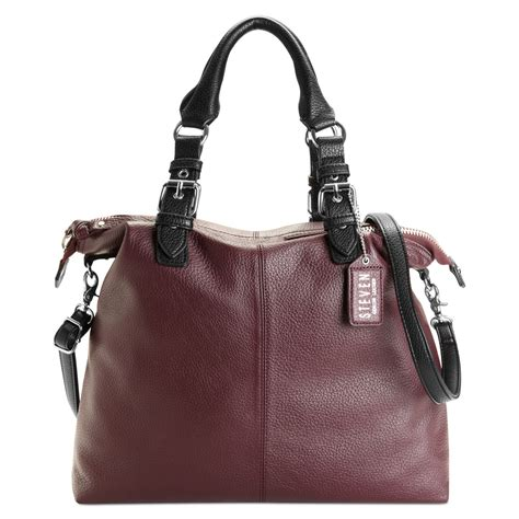 steven  steve madden handbag tote  purple lyst