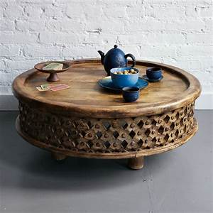 awesome round coffee tables with storage homesfeed With unusual round coffee tables