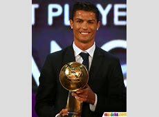 Foto Raih trofi Globe Soccer Awards, CR7 jadi pemain