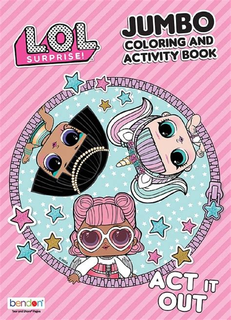 coloring book lol surprise coloring  activity book