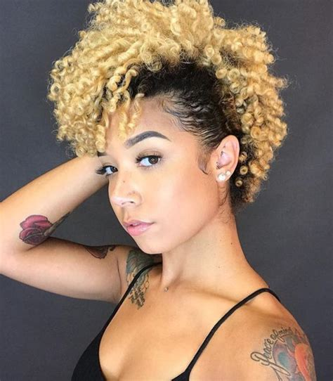 Hairstyles For Black With Hair by 35 Frohawk Styles And How To Guide For Hair