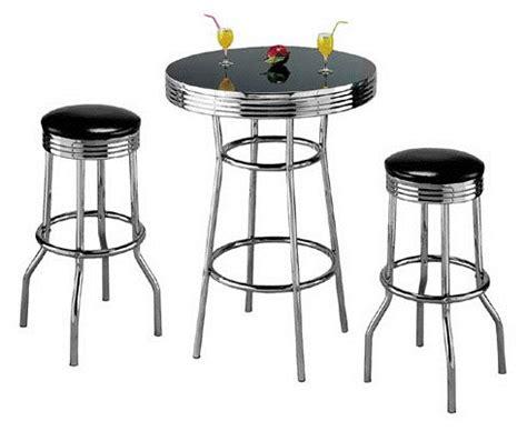 1950 furniture styles 3pcs retro style black