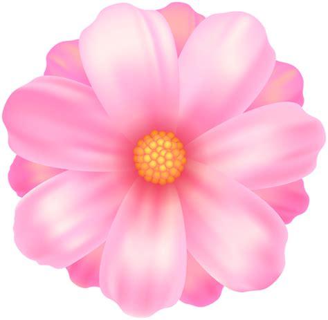 Pink Flower Transparent Clip Art  Gallery Yopriceville