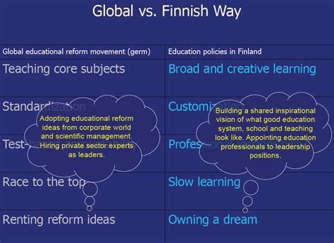 finland schools  test teaching  topics