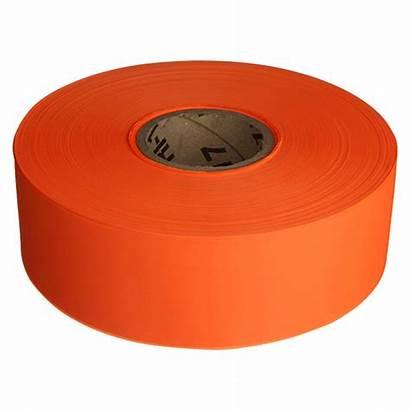 Tape Barricade Orange Solid Emedco