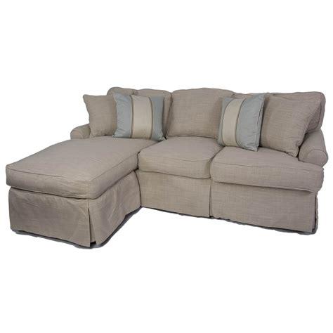 Slipcovered Sleeper Sofas by Sunset Trading Horizon 2pc Slipcovered Sleeper Chaise