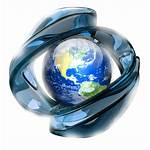 Globe 3d Icon Transparent Clipart Background Wallpapers
