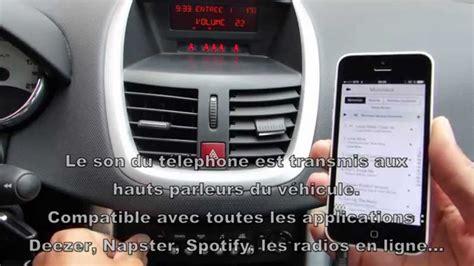 une solution simple pour connecter smartphone sur l autoradio d origine youtube