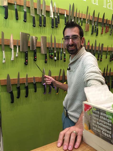 All About Knives With Kitchen A La Modes Ben Salmon The