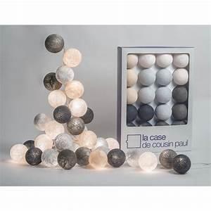 Guirlande Lumineuse Boule Rose : guirlande de boule lumineuse ~ Melissatoandfro.com Idées de Décoration