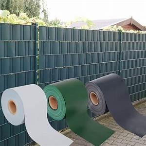 Sichtschutz Für Doppelstabmattenzaun : premium pvc sichtschutzstreifen sichtschutz zaunblende f r ~ Michelbontemps.com Haus und Dekorationen