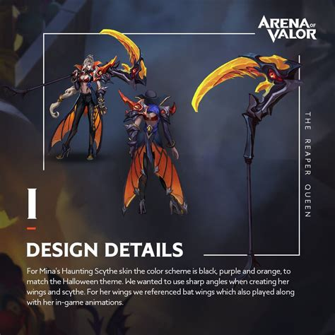 design concept haunting scythe mina aov pro