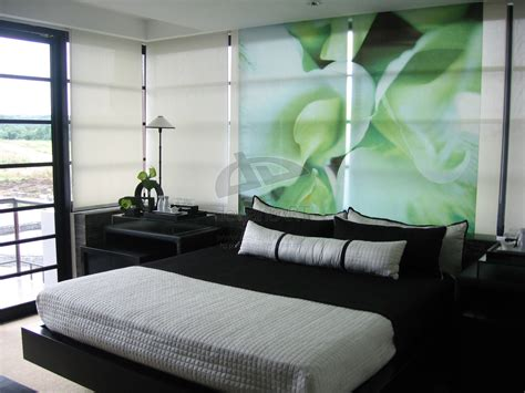 Design Ideas For Green Bedroom by Green And Black Room 2 Widescreen Wallpaper