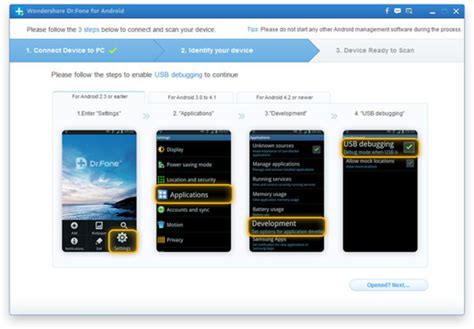 dr fone android wondershare dr fone for android