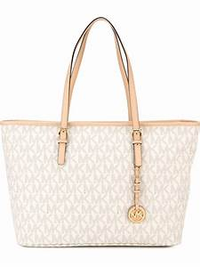 The newest Michael Kors Tote Bags : White / Michael Kors ...