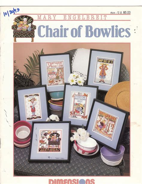 Is Just A Chair Of Bowlies by Engelbreit Cross Stitch Patterns Is Just A Chair