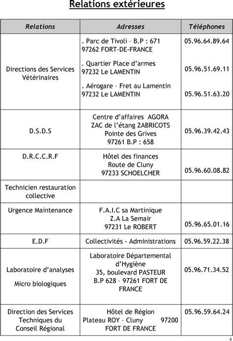organigramme cuisine collective plan de maitrise sanitaire pdf
