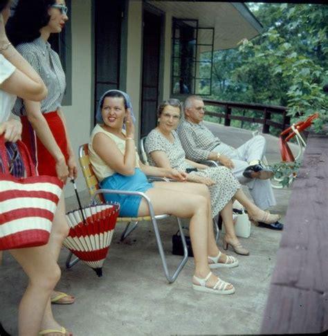 socks  sandals snapshots mid century summer fun
