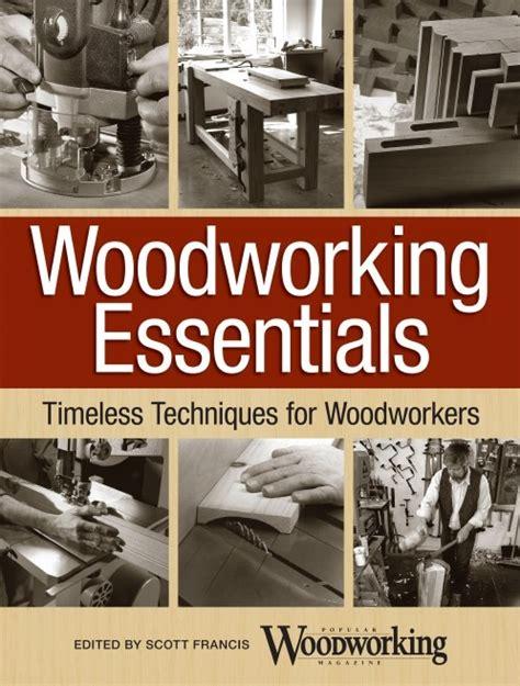 woodworking essentials book giveaway