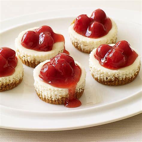 cheesecake bite recipes mini cherry cheesecake bites recipe dishmaps