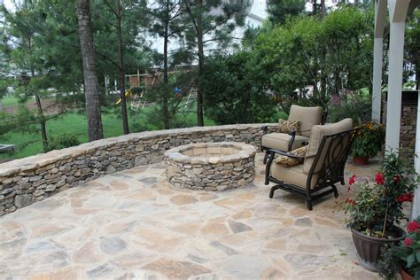 landscape pits outdoor kitchen and fire pit in hoover al birmingham landscaping services