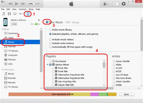 how to transfer from iphone to itunes 2 ways to transfer playlists from itunes to iphone