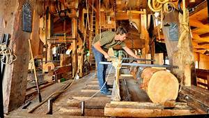 How A Wind Powered Sawmill Works- AMAZING - YouTube