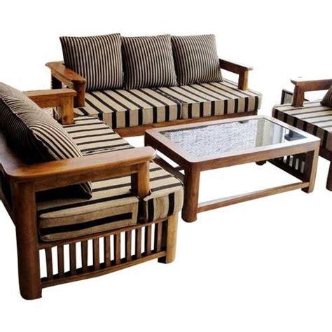 home furniture wooden sofa set manufacturer pune