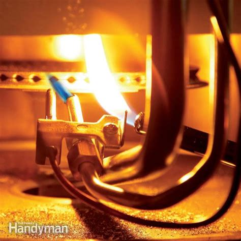 do gas dryers have pilot lights how to fix a water heater pilot light the family handyman