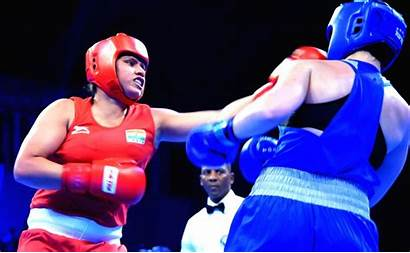Boxing Championship Anastasia Match 81kg Semifinal Aiba