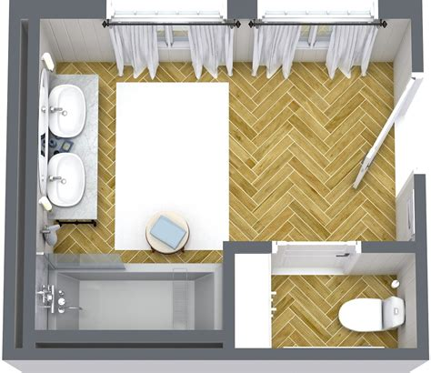 Bathroom And Bedroom Layout